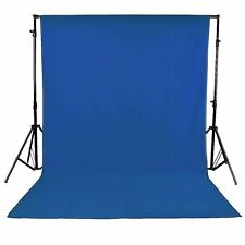 100% Cotton 3 x 3M Blue Photo Studio Video Muslin Photography Backdrop Backgrou