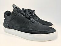 Filling Pieces Lowtop Perforated Black Size 41 / 8.5