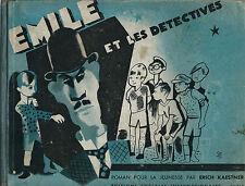 RARE EO 1931 + PHOTOS DU FILM HORS TEXTE ERIC KAESTNER : ÉMILE ET LES DÉTECTIVES