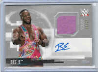 2017 TOPPS WWE UNDISPUTED SHIRT RELIC AUTO CARDS SILVER (UAR-X) U-Pick From List