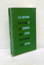 E.T.A.Hoffmann,LA SIGNORINA SCUDERI,1993 Theoria RIFLESSI[horror,mistero