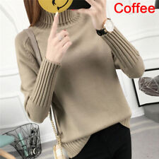 00f5de069d Warm Turtleneck Sweater Women s Jumper Sweaters Pullovers Knitted  Sweaterstt Gray