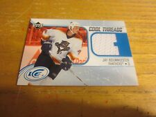Jay Bouwmeester 2005-06 Upper Deck Ice Cool Threads #CTJB Relic Card Panthers
