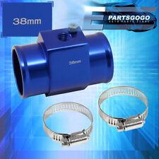 38Mm Radiator Hose Temperature Sensor Adapter Blue Breather Tank Adapter