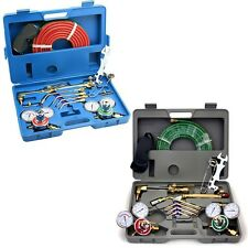 Victor Type Gas Welding and Cutting Kit Portable Harris Acetylene Oxygen Torch