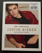 [6-1] Justin Bieber Just Getting Started 100% Official (2012, Hardcover)