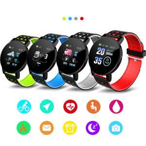 Smart Watch Bluetooth Armbanduhr Für IPhone IOS / Samsung Android