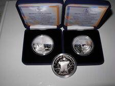 GREECE GRECE GRECIA  2011 10€ Special Olympics Set - 2 Silver Proof Coins RARE