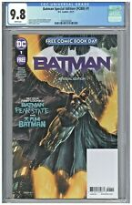 Batman Special Edition FCBD #1 CGC 9.8 Free Comic Book Day 2021 Mico Suayan