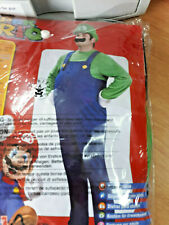 Rubies Deluxe Luigi Fancy dress Costume mens Size Medium