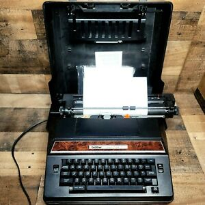 Brother Correct-O-Ball XL-1 Electric Typewriter With Cover Model 7300 TECH0211