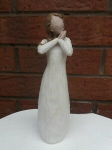 "WILLOW TREE JOY DEMDACO SUSAN LORDI 2003 9 "" FIGURINE VGC"