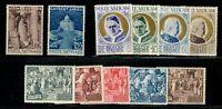 Vatican 1951 Year Set - MNH