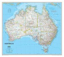 Australia Classic, laminated Wall Maps Continents-9780792250159- NG-101