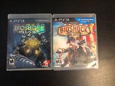 PS3 Game Bundle - Bioshock 2 & Bioshock Infinite - Complete