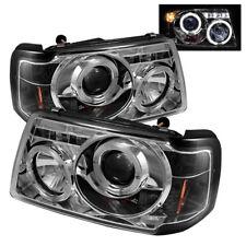 Ford 01-11 Ranger Chrome Dual Halo LED Projector Headlight Sport XL XLT FX4 STX
