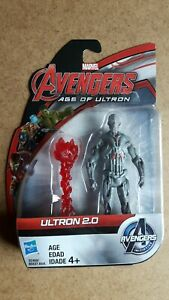 """Marvel Avengers Age Of Ultron Ultron 2.0 3.75"""" Action Figure New"""