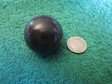 30MM BLACK STONE SPHERE Crystal Healing Chakra Protection