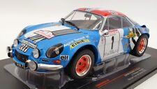 IXO Models 1/18 Scale 18RMC062A - Alpine Renault A110 #1 1st Nicholas/Vial 1973