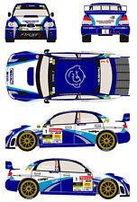 1/43 Decal Subaru Imprezza WRC S12b #1 Rally Lyon Charbonnieres 2013
