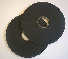 15 Rolls Double Sided Black Foam Tape - 19 mm x 20 m x 3 mm thick