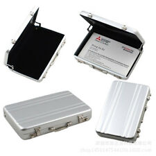 Aluminum Metal Password Briefcase Business ID Credit Card Holder Case Box bo