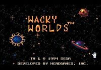 Wacky Worlds Creativity Studio - Sega Genesis Game Only