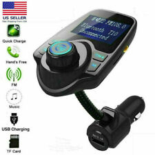 Wireless Bluetooth FM Transmitter In-Car Radio MP3 Adapter Car Kit 2 USB Charger