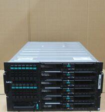 NEC Flex Power MFSYS25 6x Express 5800 Blades 12x X5560 2.8GHz 144GB 6x 300G 10K