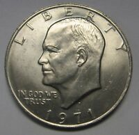 1971-D Eisenhower Ike Dollar Uncirculated Condition Nice Higher End Coin   DUTCH