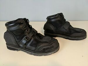 Icon Field Armor Chukka Boots Motorcycle Boots Black LOW MILES - US Men's 11