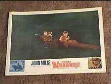 VALIANT 1962 LOBBY CARD #6  JOHN MILLS NAVAL MILITARY