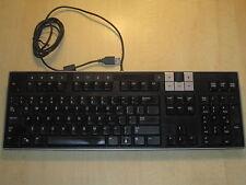 Dell U473D Slim Multimedia USB Keyboard & 2 Port USB Hub Y-U0003-DEL5