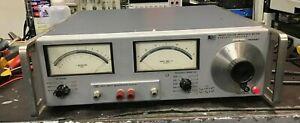 Hp Agilent 4800A Vector Impedance Meter + 4801A