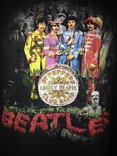 "VINTAGE 80'S THE BEATLES ""SGT PEPPER LONELY HEARTS CLUB ""VTG  ROCK  OOP XL RARE"