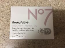 No7 Beautiful Skin Day Cream Normal - Dry Skin UVA UVB SPF 15 50ml NEW STOCK