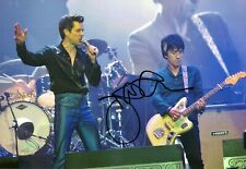 Johnny MARR SIGNED Autograph 12x8 Photo 1 with The Killers AFTAL COA The SMITHS