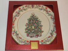 "Lenox Christmas Trees Around The World Plate Hungary 2005 H661 10.75"" dia"