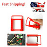 """2X 2.5"""" to 3.5"""" SSD HDD Tray Bracket Hard Drive Bay Caddy Adapter Mounting New"""