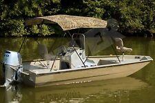 "H-Duty Camo Camouflage Camoflage Boat Bimini Top 46""tall x 54-60""wide x 6' long"