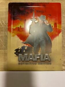 Mafia definitive edition Official Steelbook (Ultra Rare) (no game including)