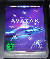 AVATAR EXTENDED COLLECTOR´S EDITION INKLUSIVE ARTBOOK BLU RAY  NEU & OVP