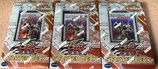 3x YuGiOh TCG 5D's 2009 Road Warrior Starter Deck Sealed 1st Edition English