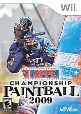 NPPL: Championship Paintball 2009 Wii
