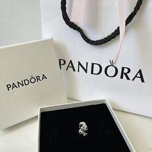 Genuine Pandora Squirrel Charm Sterling Silver Boxed