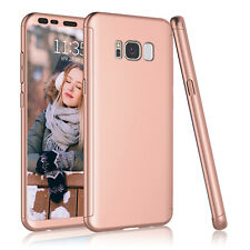 For Samsung Galaxy S8 / S8 Plus 360° Shockproof Case Cover + Screen Protector