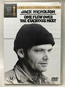 One Flew Over The Cuckoo's Nest - 2 DVD Set - AusPost with Tracking
