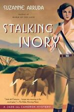 """Jade Del Cameron Mystery: """"Stalking Ivory"""" by Suzanne Arruda - Signed PB"""
