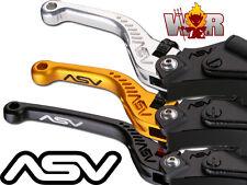 Yamaha FZ1 2001 02 03 04 05 R6S 2006 07 08 09 ASV C5 Lever Set Gold Short