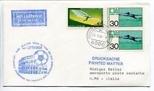 FFC 1990 Lufthansa Special Flight Calcio Coppa Mondiale Football Italia Roma